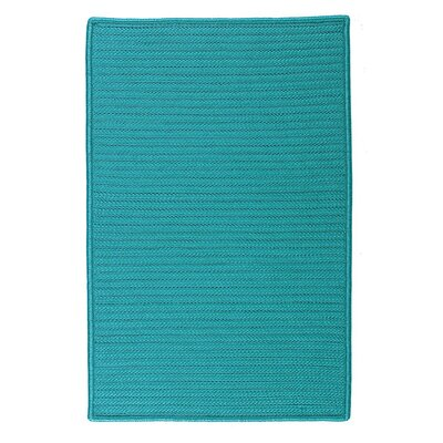 Glasgow Blue Indoor/Outdoor Area Rug Rug Size: Square 8