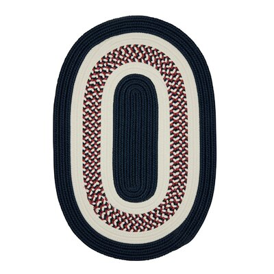 Germain Blue Area Rug Rug Size: Round 6