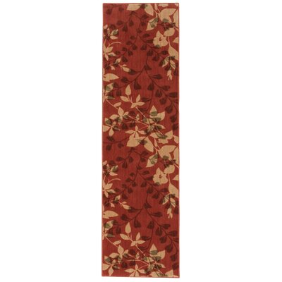 Wellesley Red Area Rug Rug Size: Runner 23 x 8