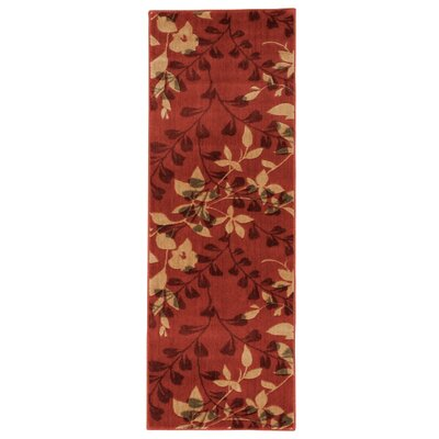 Wellesley Red Area Rug Rug Size: Rectangle 2 x 59