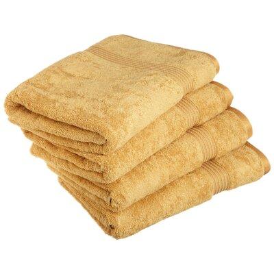 Superior Bath Towel Set Color: Gold
