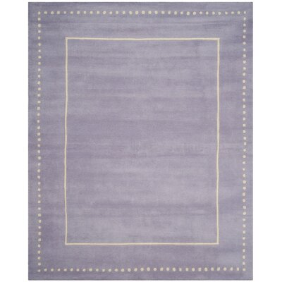 Amundson Hand-Tufted Gray Area Rug Rug Size: Rectangle 5 x 8