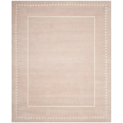 Amundson Hand-Tufted Beige Indoor Area Rug Rug Size: 26 x 4