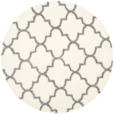 Bingham Beige/Gray Indoor Area Rug Rug Size: Rectangle 4 x 6