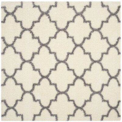 Bingham Beige/Gray Indoor Area Rug Rug Size: Square 67