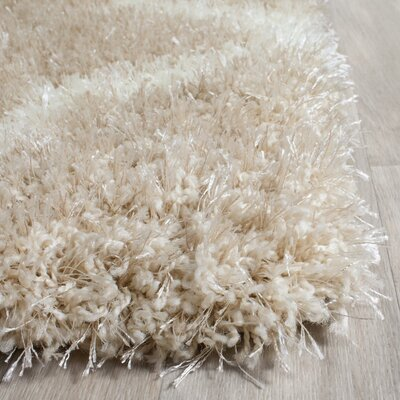 Bingham Beige Area Rug Rug Size: Rectangle 4 x 6