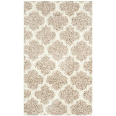Bingham Beige Area Rug Rug Size: Rectangle 3 x 5