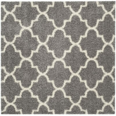 Bingham Gray Area Rug Rug Size: Square 67