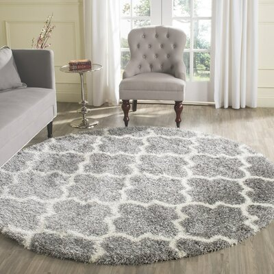Bingham Gray Area Rug Rug Size: Rectangle 86 x 12