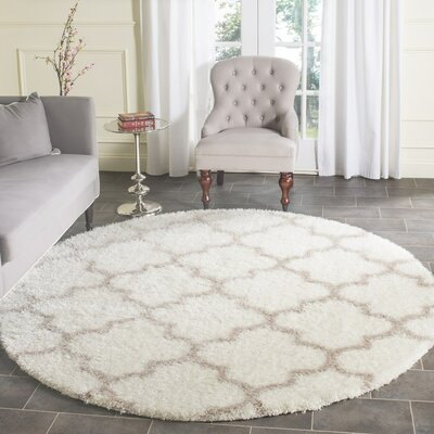 Bingham Beige Indoor Area Rug Rug Size: Rectangle 86 x 12