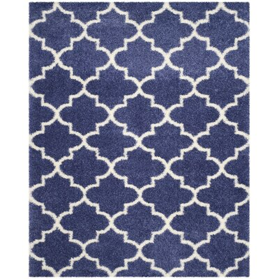 Bingham Blue Area Rug Rug Size: Rectangle 8 x 10