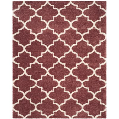 Bingham Pink Indoor  Area Rug Rug Size: Rectangle 8 x 10