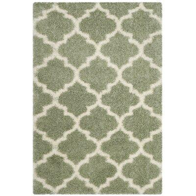 Bingham Green Indoor Area Rug Rug Size: 53 x 76