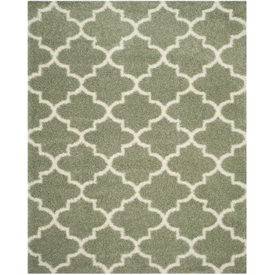 Bingham Green Indoor Area Rug Rug Size: Rectangle 8 x 10
