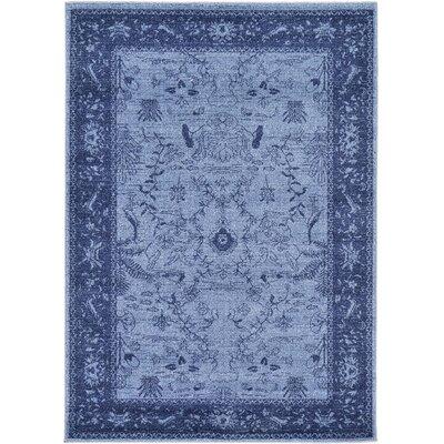 Attleborough Blue Area Rug Rug Size: 4 x 57