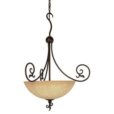 Sandia 3-Light Inverted Pendant