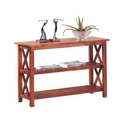 Adkisson Console Table Finish: Medium Brown