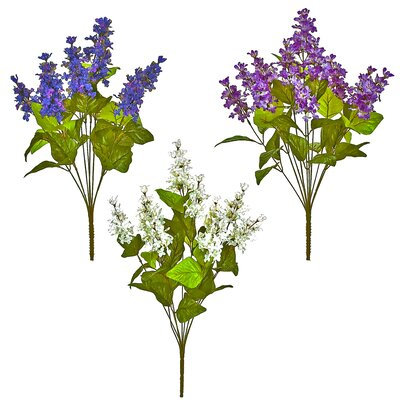 Lilac Bush Flowers (Set of 6) CHLH8859 34538785