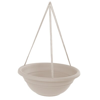 Coleshill Plastic Hanging Planter Color: Taupe