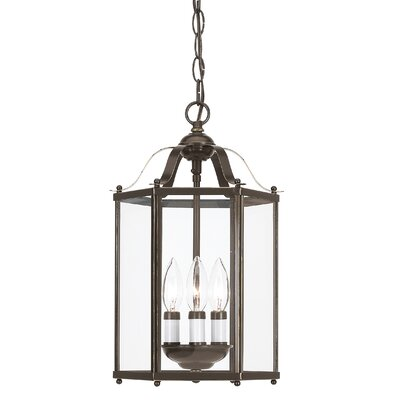 Pinecrest 3-Light Foyer Pendant Finish: Heirloom Bronze