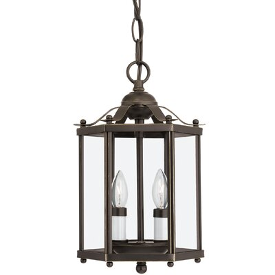 Pinecrest 2-Light Foyer Pendant Finish: Heirloom Bronze