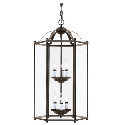 Pinecrest 6-Light Foyer Pendant Finish: Heirloom Bronze