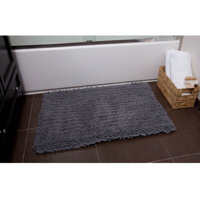 Ardent 2 Piece Bath Rug Set Color: Gray