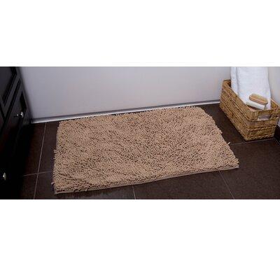 Ardent Bath Rug Color: Ivory, Size: 21 x 34