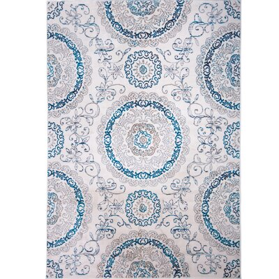 Arend Area Rug Rug Size: Rectangle 33 x 52