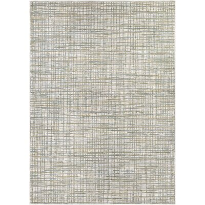 Carone Ivory/Hunter Indoor/Outdoor Area Rug Rug Size: 66 x 96
