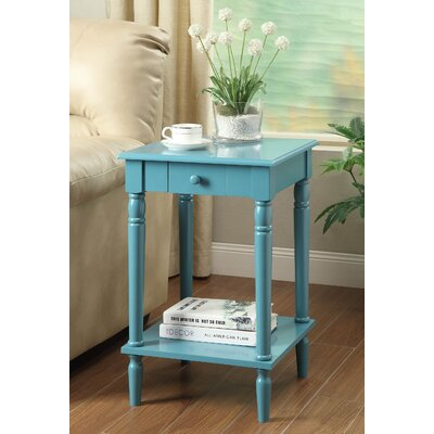 Carlisle End Table Color: Blue