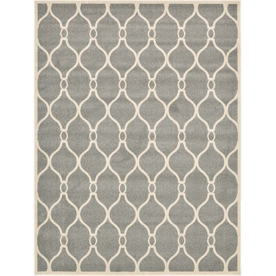 Millvale Gray Area Rug Rug Size: 9 x 12