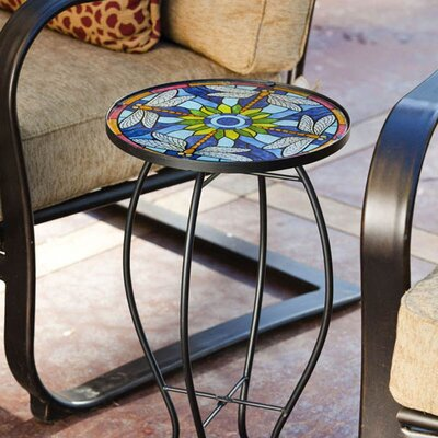 Sawyerville Dragonfly Side Table