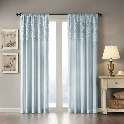 Hawley Ruffle Single Curtain Panel