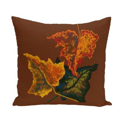 Autumn Colours Flower Print Throw Pillow