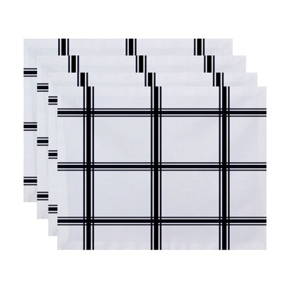 Arlene Plaid Geometric Placemat