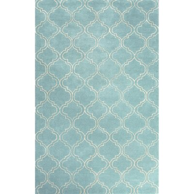 Orson Blue/Ivory Area Rug Rug Size: Rectangle 2 x 3
