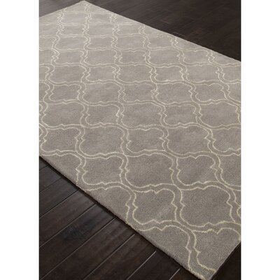 Orson Hand-Woven Gray/Ivory Area Rug Rug Size: Rectangle 5 x 8