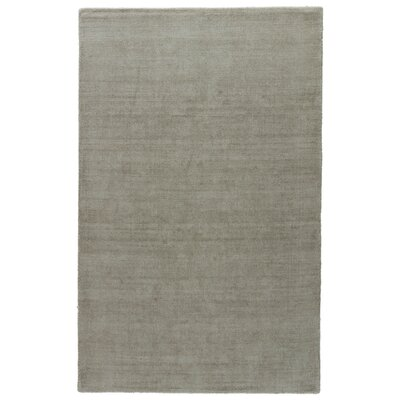 Fairlop Hand-Loomed Gray Area Rug Rug Size: 8 x 11