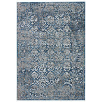 Covell Silver Lining/Cloudburst Area Rug Rug Size: Rectangle 5 x 8