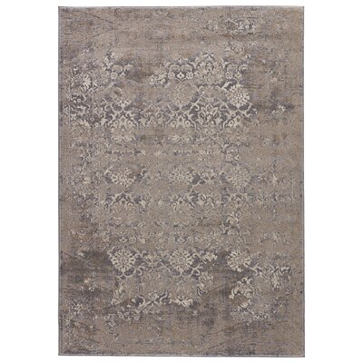 Tharpe Gray Area Rug Rug Size: Rectangle 2 x 3