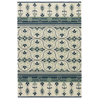 Alder Rutabaga/Dark Denim Indoor/Outdoor Area Rug Rug Size: 2 x 3