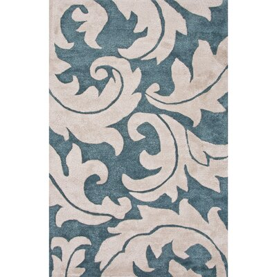 Epping Wool and Art Silk Hand Tufted /Ivory Area Rug Rug Size: 2 x 3