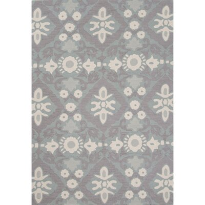Norton Polyester Hand Tufted Blue Area Rug Rug Size: 5 x 76