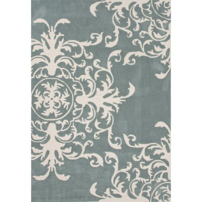 Norton Polyester Blue Hand Tufted Area Rug Rug Size: 5 x 76
