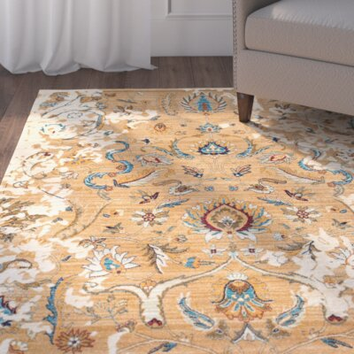 Barwood Ivory Area Rug Rug Size: Rectangle 27 x 4