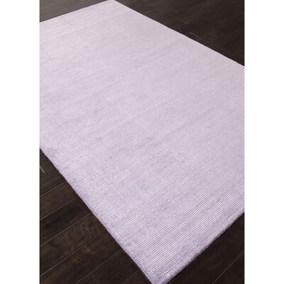 Thomsen Purple Solid Area Rug Rug Size: 2 x 3