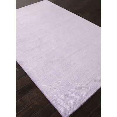 Thomsen Hand-Woven Purple Area Rug Rug Size: Rectangle 5 x 8