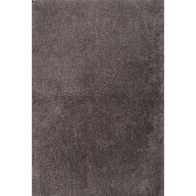 Thompsonville Gray Solid Rug Rug Size: 4 x 6