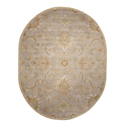 Thornhill Gray/Tan Area Rug Rug Size: Oval 8 x 10